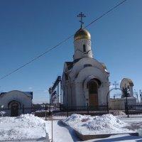 Храм в честь Смоленской иконы Божией Матери :: Татьяна Котельникова