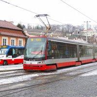 Транспорт Праги. :: ИРЭН@ Комарова
