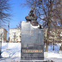 Тверь. Памятник морякам-подводникам :: Galina Leskova