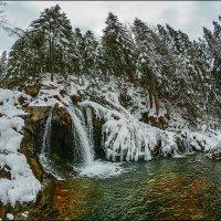 В Карпатах зима... :: Юрий Гординский