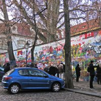 Стена Джона Леннона. Прага. :: ИРЭН@ .