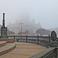 Туманным утром на Исаакиевской площади :: Елена