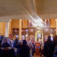 Воскресная  служба в православной церкви . :: Мила Бовкун
