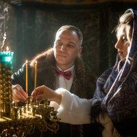 Две свечи :: Анастасия Иванова