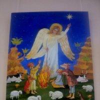 Выставка картин про Ангелов в Томилино. :: Ольга Кривых