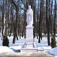 памятник преподобному Сергию Радонежскому в Рязани. :: Galina Leskova
