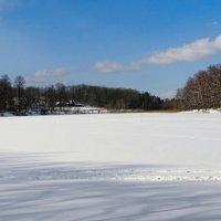 Замёрзшее озеро :: Милешкин Владимир Алексеевич