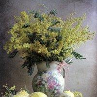 Желтые пушистые шарики душистые :: Наталия Тихомирова