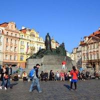 Прогулки по Староместской площади :: Ольга