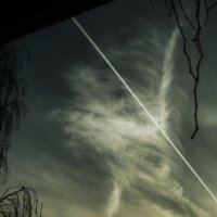 Облачный индеец за окном. :: Елена Kазак