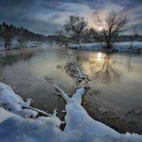 Февральский закат...3. :: Андрей Войцехов