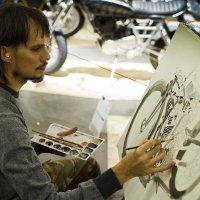 Живописцы не похожи на мотоциклистов :: Letika Letyaga