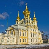 Петропавловская церковь. :: Senior Веселков Петр