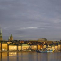 Умытый теплым солнечным дождём Стокгольм... :: Tatiana Markova
