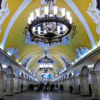 Станция Комсомольская Москва :: Иван
