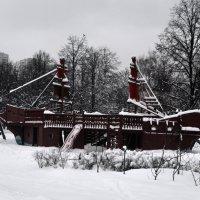застрявший в снегах... :: Галина R...