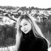 зима, девушка :: Олеся Семенова