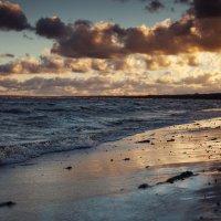 закат на Финском заливе :: Irina