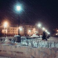 А снег идёт. :: Олег Козлов