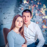 "Новогодняя съемка ""в ожидании чуда"" :: Ирина Суворова"