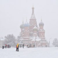 Метель на Красной площади :: Ирина Бирюкова