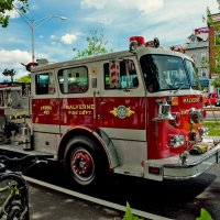 Пожарная машина :: Ольга Маркова