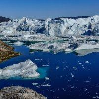 это ещё не совсем айсберги и уже не совсем ледник :: Георгий А