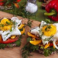 Бутерброд с яичницей :: Елена Кириллова