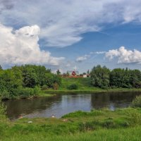 Летний день на реке :: Наталья Ильина