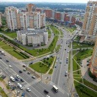 Соколово-Мещерская улица с высоты птичьего полёта :: Ирина Via