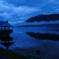 Ночь на Телецком озере :: alteragen Абанин Г.