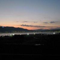 Вечерний вид на море в Геленджике :: Анжела