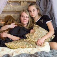 Мама и доченька :: Евгения Курицына