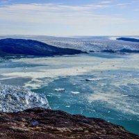 один ледник, второй ледник, но все соединяются в покрове Гренландии :: Георгий А