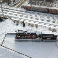 Поезд Новокузнецк :: Юрий Лобачев