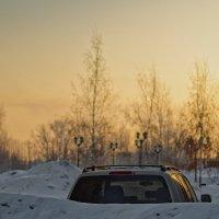 Морозный рассвет :: Евгений К