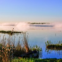утром на озере :: Василий Иваненко