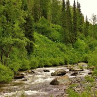 Горная река :: Сергей Чиняев