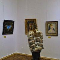 Выставка картина Никоса Сафронова. :: Vit