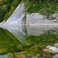Горная река. :: Олег Рыбалко