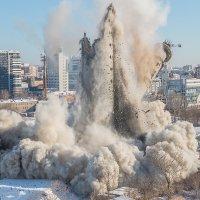 Снос телебашни в Екатеринбурге :: Ежъ Осипов