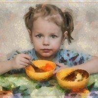 Портрет внучки... :: Алексей Лебедев