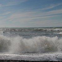 Море  волнуется. :: Маргарита ( Марта ) Дрожжина