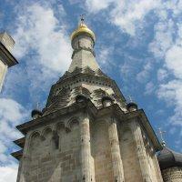 Храм в селе Остров :: Татьяна Назарова