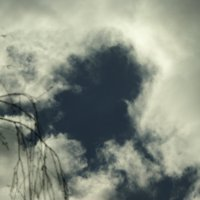 Профиль мужчины в небе. :: Елена Kазак