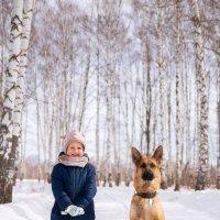 Собака-друг человека :: Каролина Савельева