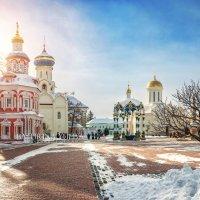 В Лавре солнечно :: Юлия Батурина