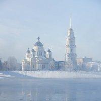 Спа́со-Преображе́нский кафедра́льный собо́р (Собор во имя Преображения Господня) в Рыбинске :: Горелов Дмитрий