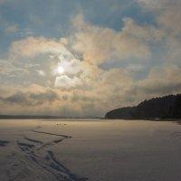 День к вечеру после снегопада :: Исаков Александр