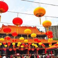Китайские фонари Храм Вонг Тай Син Гонконг :: Swetlana V